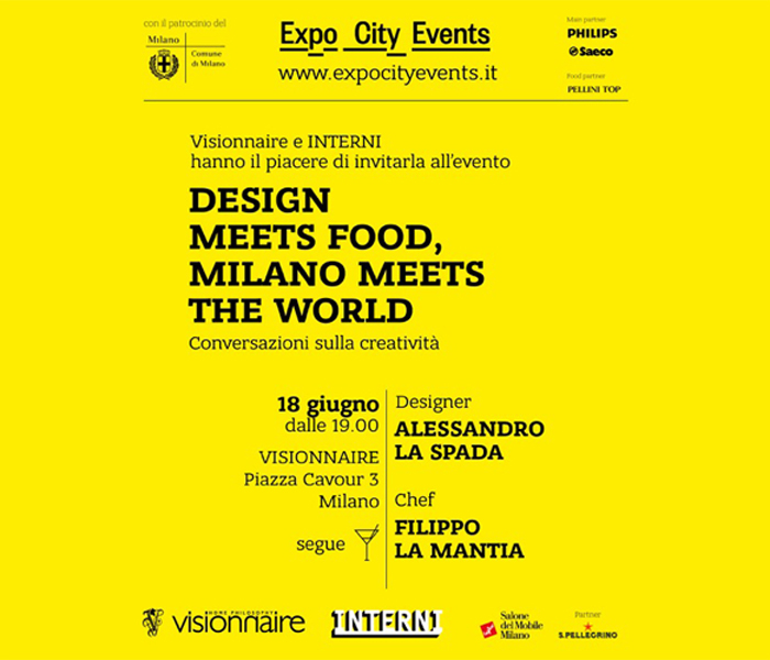 DESIGN MEETS FOOD | EXPO CITY EVENTS